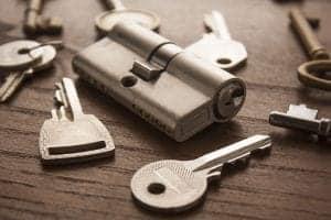 Business lock Installation